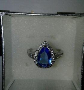 Кольцо по серебрение