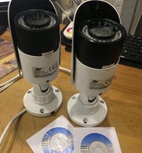 IP-видеокамера с ИК-подсветкой. LTV CNE-620 48