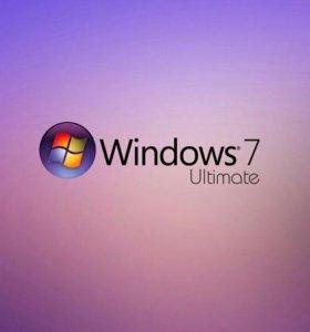 Установка Windows 7 Ultimate и программ.