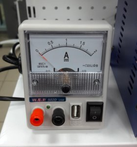 Лабораторный источник питания WEP 502d