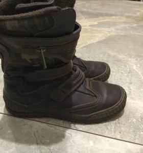 ботинки осенне-весенние36-37