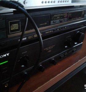 Проигрыватель компакт дисков вега 122с