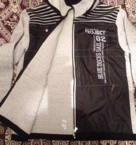 Мужская трикотажная куртка (новая)