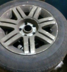 Резина с дисками от VW Passat