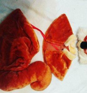 Продам костюмчик на новый год  деткам:БЕЛОЧКА