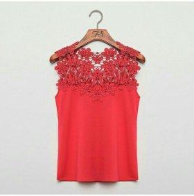 Новая блузка цвет малина!!