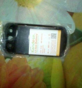 Батарейка с крышкой комплект. Galaxy s 3 i9300