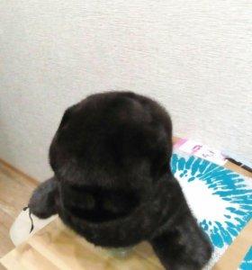 Ушанка норковая