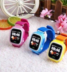 Только сегодня! Детские умные GPS Часы Q80/90