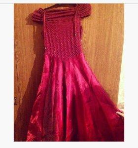 Платье для девочки 9-12 лет
