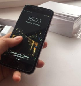 iPhone 6/16gb space gray (новый)
