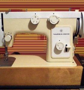 Швейная машинка Чайка 142 М с педалью