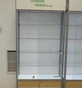 Шкаф- витрина стеклянный