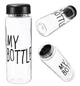 """Бутылка """"my bottle"""" новая"""