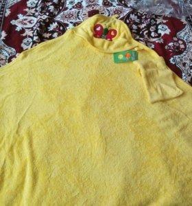 Детское полотенце уголком