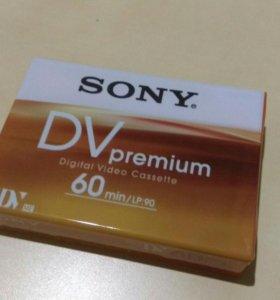 SONY DV PREMIUM видеокассеты