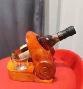 Сувенирная деревянная пушка
