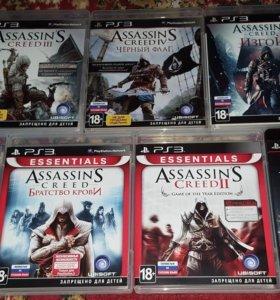 Серия игр Assassin's Creed на PS3