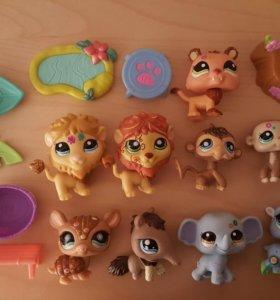 Зверьки Littlest Pet Shop LPS