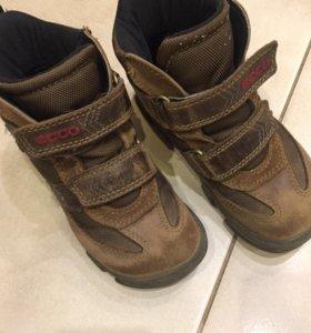 Ecco 28р ботинки демисезонные