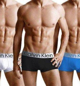 Набор боксеров Calvin Klein steel 3шт