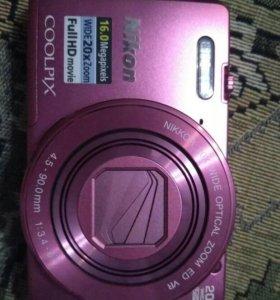 Фотоаппарат nikon coolpix s 7000