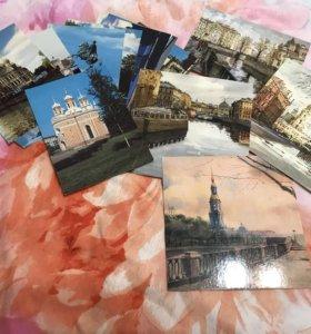 открытки с видом Санкт-Петербурга