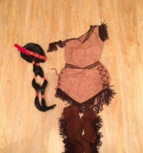 Маскарадный костюм индейской девушки. прокат.