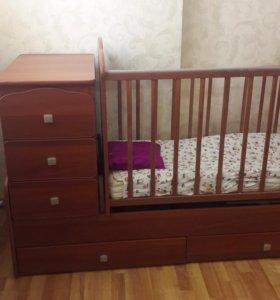 Детский кровать трансформер