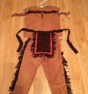 Маскарадный костюм индейца, мужской. прокат
