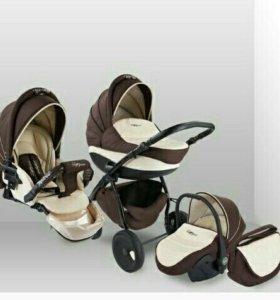 Детская коляска Tutis Zippy Leather New (эко кожа