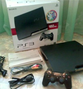 Playstation 3 160гб + диск