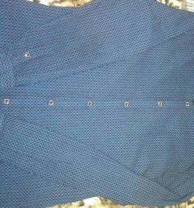 Мужская рубашка. Цвет Тёмно-синий