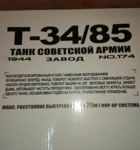 Танк Heng long T34/85 pro