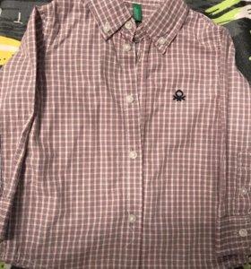 Рубашки Benetton