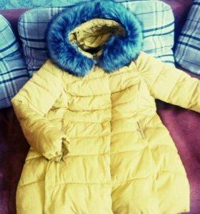 Зимний-осенне-весенний пуховик куртка