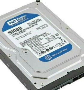 Жесткий диск WD Blue 500 gb