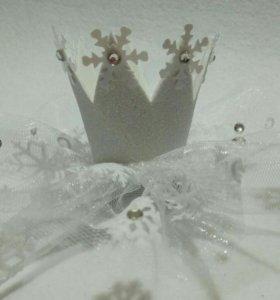 Короны для принцесс к новому году