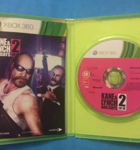 Игра на Xbox 360 Kane & Lynch 2