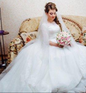 Свадебно платье