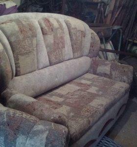 Диван + кресло-кровать
