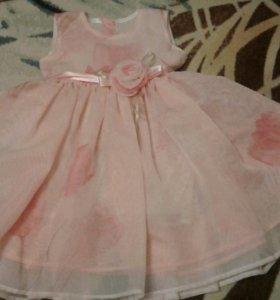 Платье детское на годик