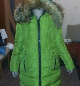 Теплая зимняя куртка 48 размера