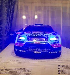 Радиоуправляемая модель rally мотор hpi