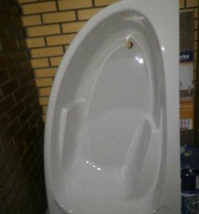 Акриловая ванна Cersanit Joanna 150*95, правая