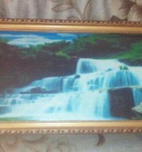 Музыкальное панно водопад