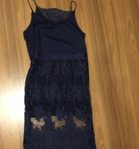 Комплект платье+юбка