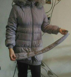 Куртка удлиненная для будущей мамы