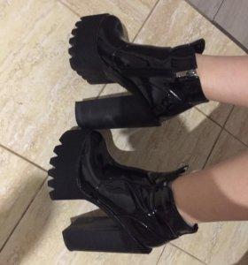 Туфли обувь ботильоны