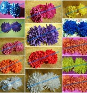 Резинки для волос хризантемы